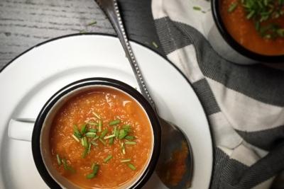 wortel-paprika-gember-soep