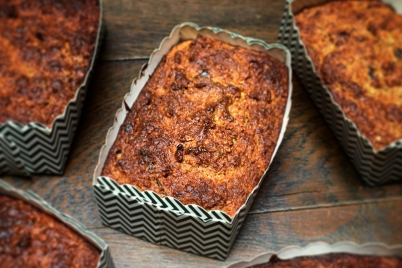 havermout-courgette-cake