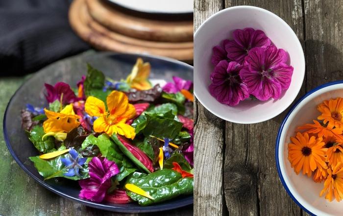 flower power salade