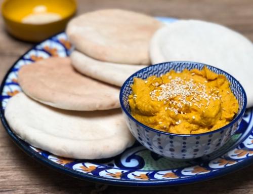 Pompoen hummus, de gezonde en veelzijdige groentedip